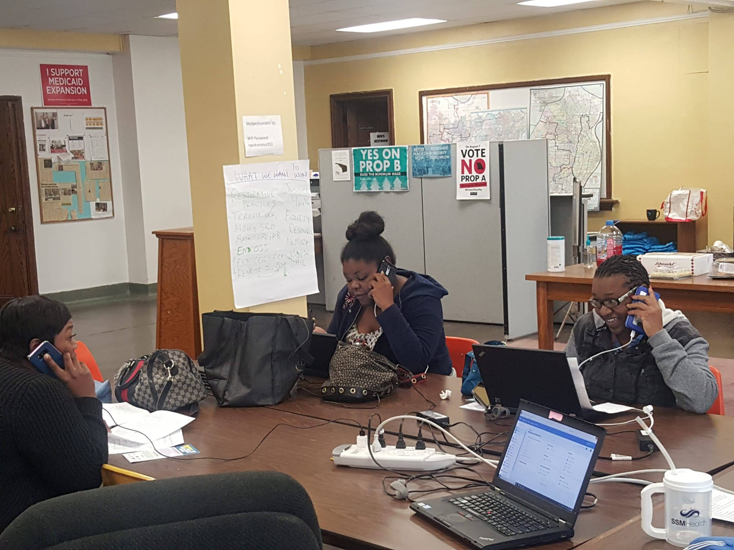 MCU GOTV Pre-Election Phone Banking